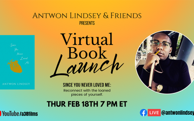Virtual Book Launch – Antwon Lindsey